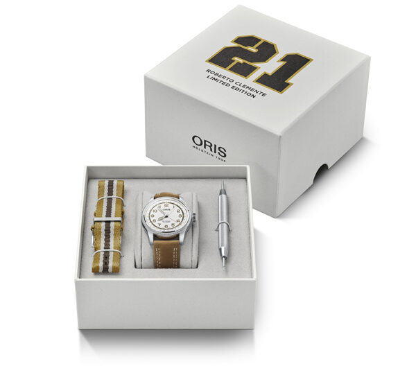 01 754 7741 4081-Set - Oris Roberto Clemente Limited Edition