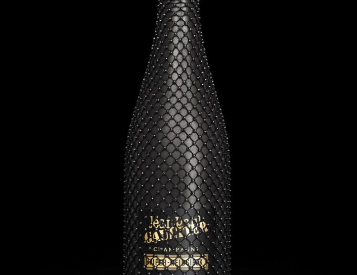 Restons couture... champagne en habit chic pour commencer 2012 !