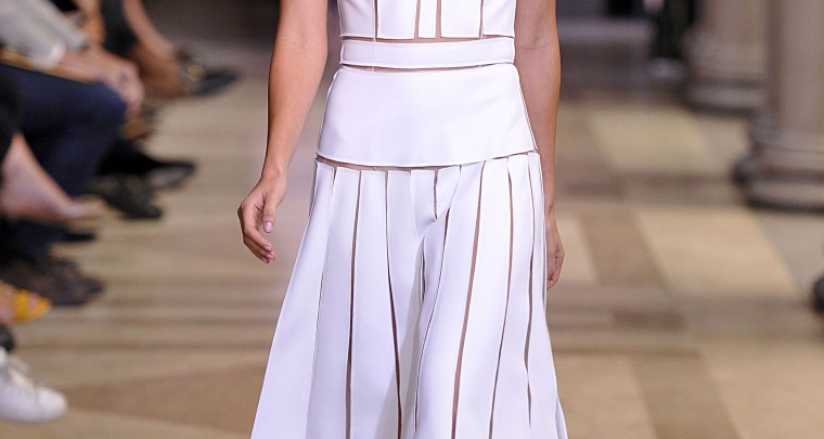 #NYFW : Carolina Herrera voit la vie en rose