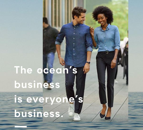 GANT s'implique dans la sauvegarde des océans