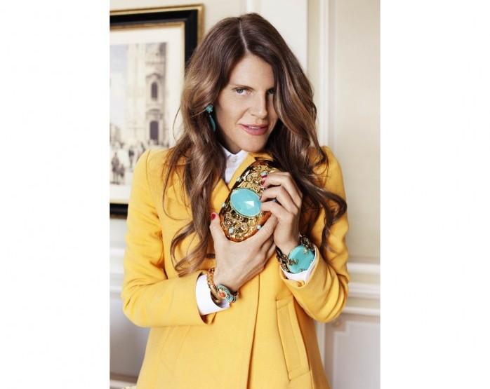 Anna Dello Russo signe une collection d'accessoires pour H&M