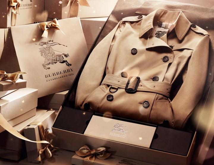 TheDreamTeam aime les cadeaux de noël Burberry
