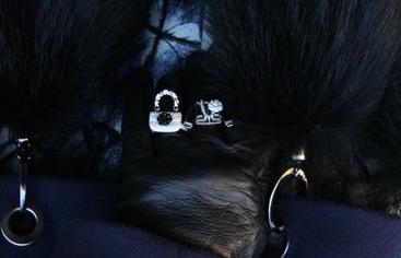 """Bagues """"esprit Chanel"""", cadeaux d'une amie et styliste de talent: Irma Birka."""