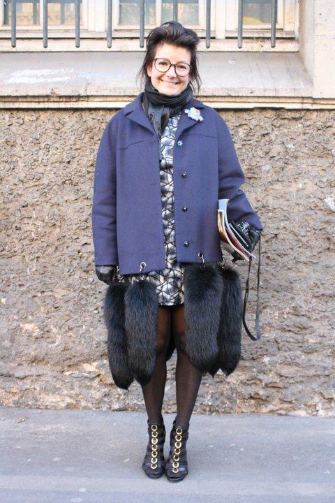 Manteau et robe Paule Ka.
