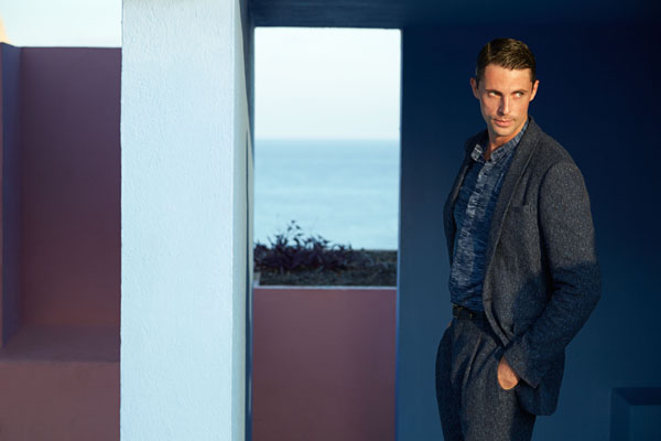 Matthew Goode, nouveau visage de Pal Zileri