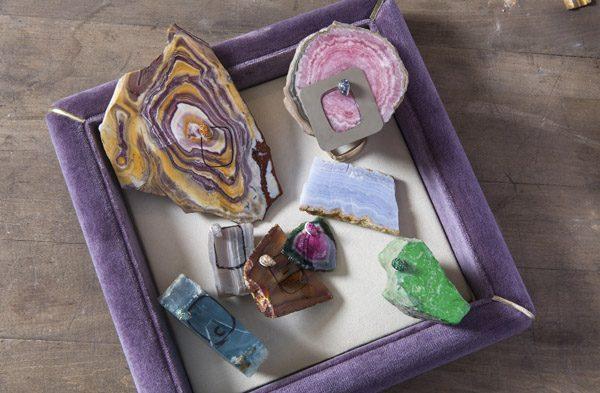 5. Pomellato raw gems