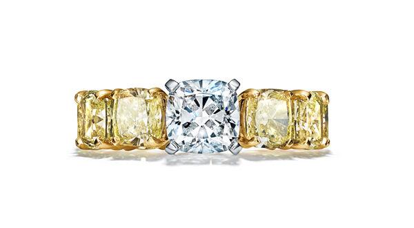 High Fine Jewelry on White