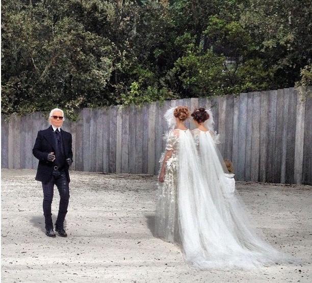 Les deux mariées de Chanel