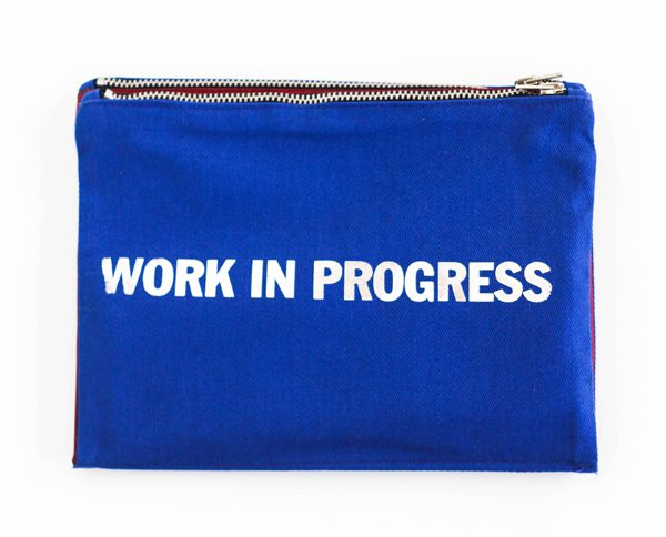 ABOUT A WORKER - Pochette Coton 100% Made in France - 39€