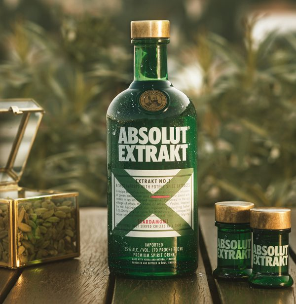 ABSOLUT EXTRAKT - L'Herbal Shot 70cl - 19.90€