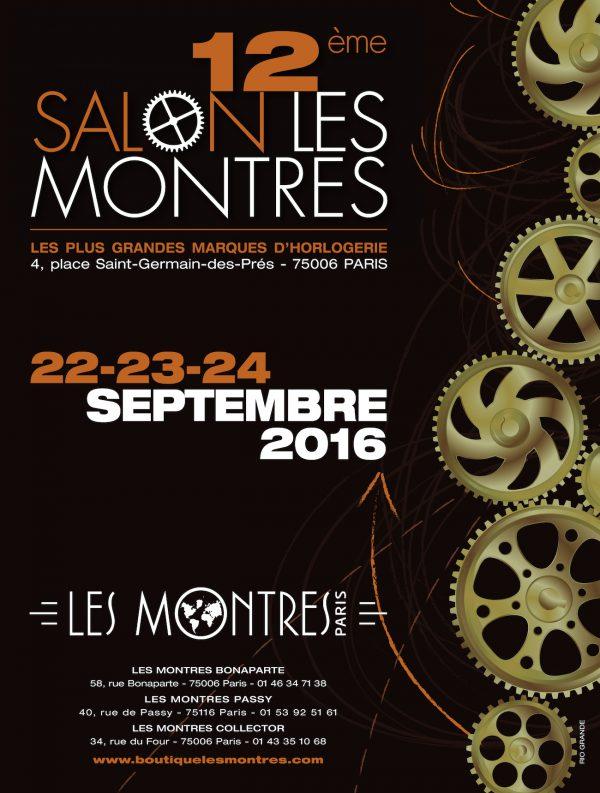 Affiche Salon Les Montres 2016