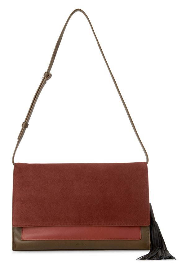 ALLSAINTS – Belle Large clutch - 285€