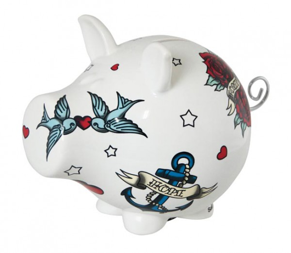 AMBIANCEETSTYLES.COM - Tirelire chien love céramique - 24.90€
