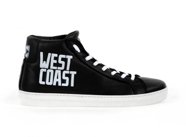AMERICAN COLLEGE, sneakers en cuir imprimé, 139€