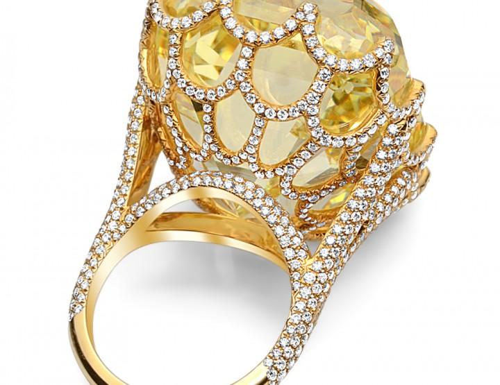 Plus gros diamant Jaune du monde