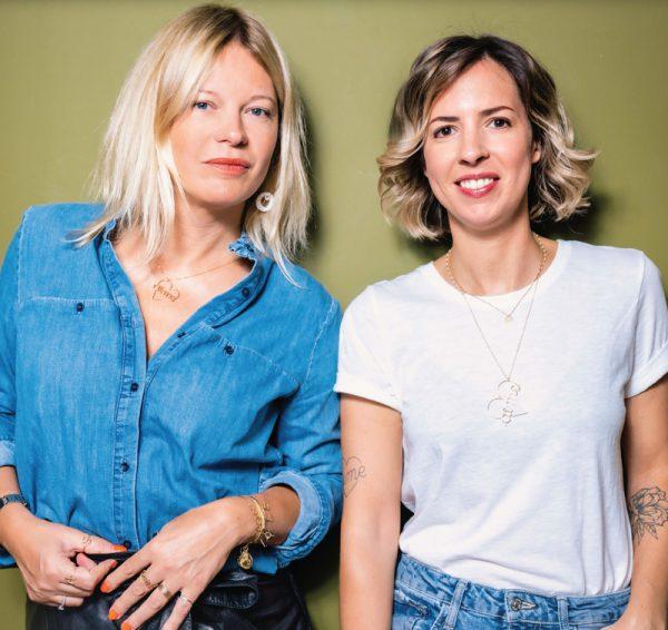 Anne-Sophie Baillet et Anne-Sophie Nebout