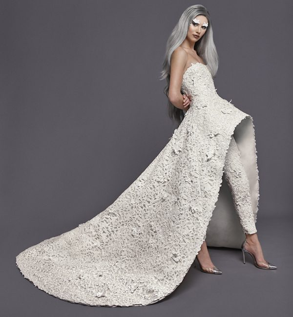 AUGUST GETTY Atelier - Couture SS19 - Windsor Look 14 LB