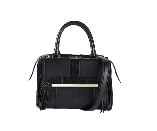 AZZARO - Sac Palais royal black en cuir - 790€
