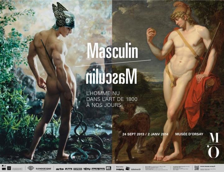 La Maison FRANCESCO SMALTO mécène de l'exposition « Masculin / Masculin, l'homme nu dans l'art de 1800 à nos jours » au Musée d'ORSAY
