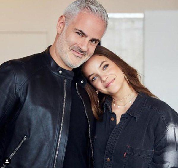 Alexandre Corrot et Barbara Palvin