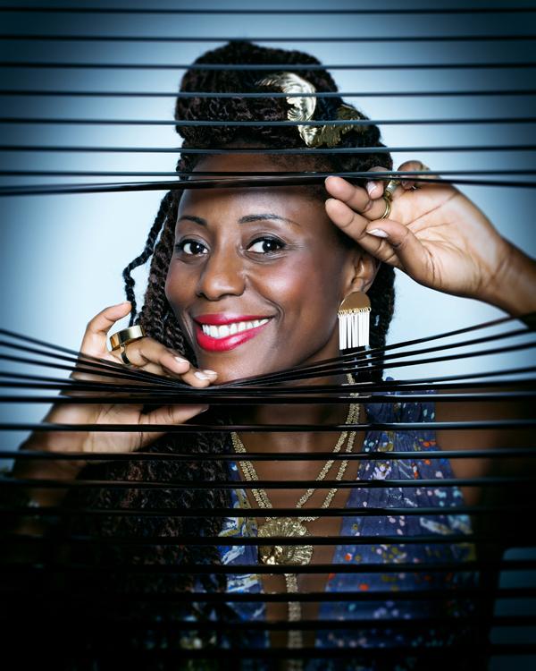 Aline Afanoukoé, qui a géré la programmation musicale avec Theophilus London
