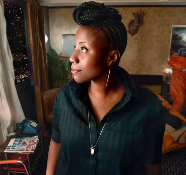 La directrice artistique de La Chambre Noire, Aline Afanoukoé