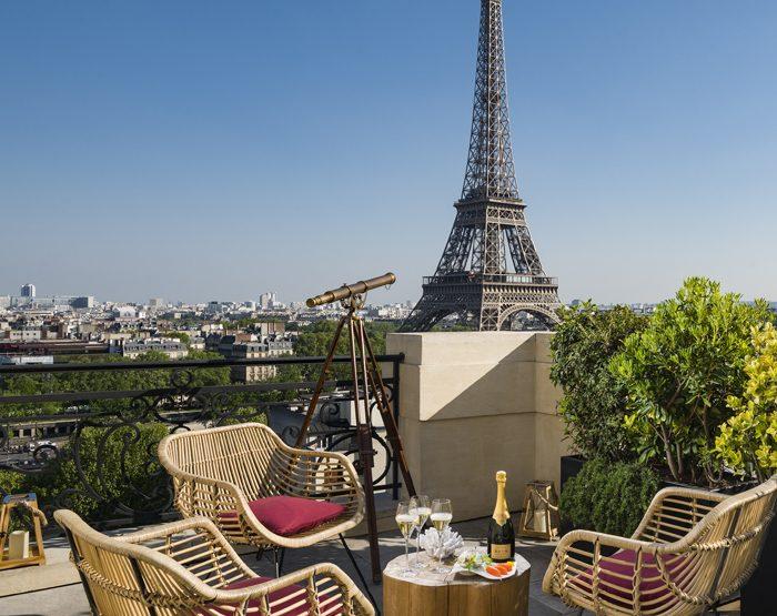 Krug investit la suite 410 du Shangri-La Hotel Paris pour l'été