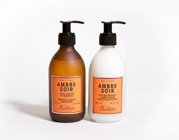 BASTIDE - Duo mains Ambre Soir (300ml chacun) - 70€