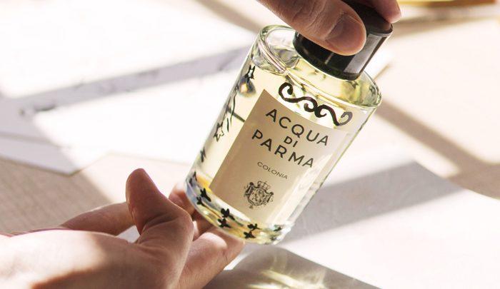 Le décor de Clym pour Acqua Di Parma