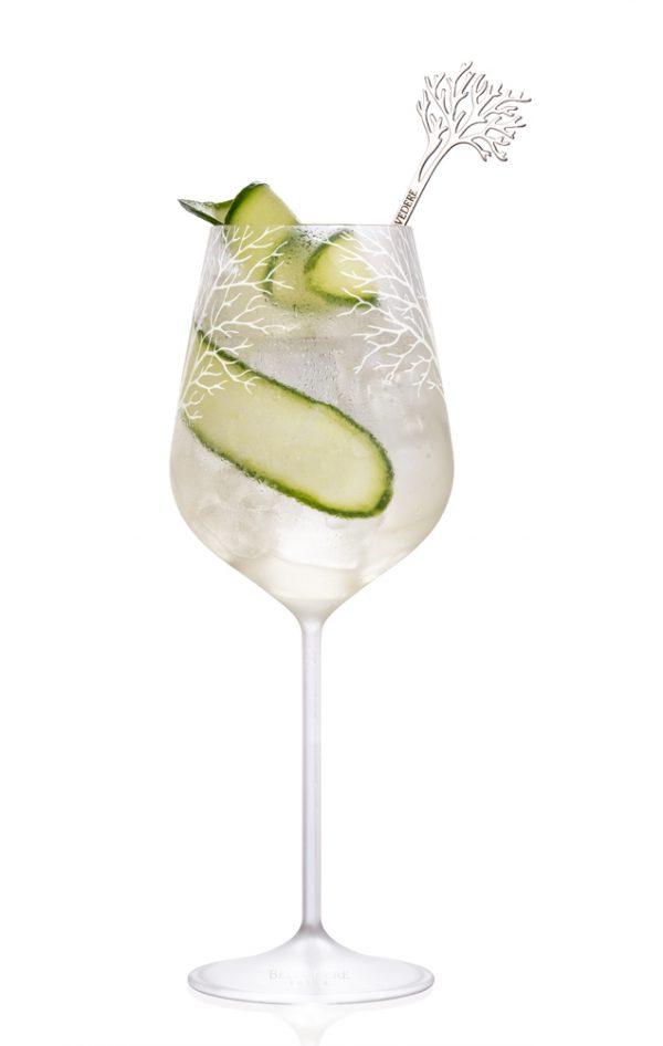 BELVEDERE - Cocktail Concombre et Fleur de Sureau - Prix en fonction du lieu