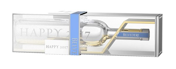 BELVEDERE - Coffret magnum Happy 2017 - 190€