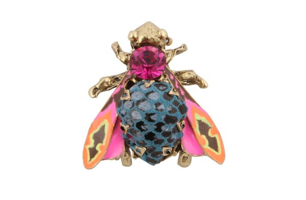 BROCHE_MOUCHE_OR_PYTHON_BLEU_ROSE-1