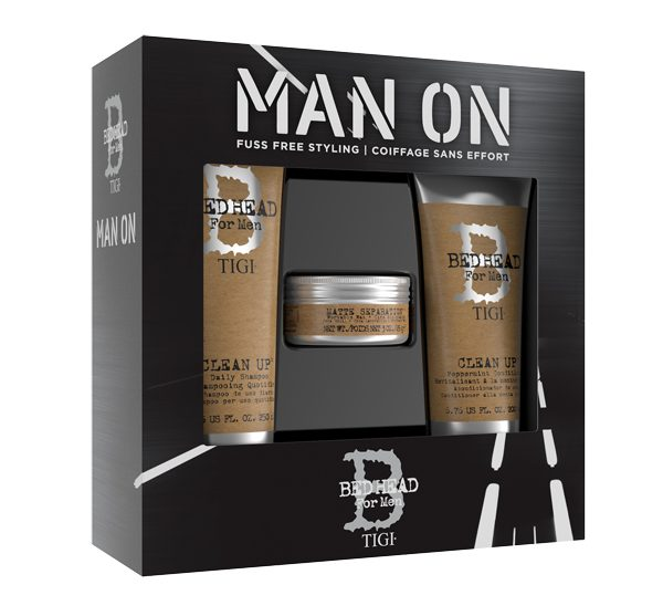 Bed Head for Men-Man Up On-Gift Pack copie