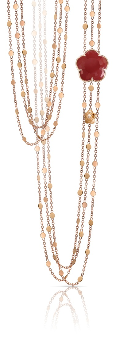 Bon Ton Corniola necklace