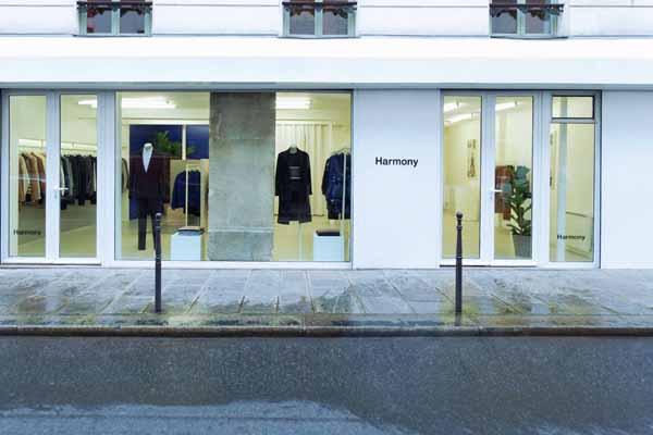 Boutique Harmony vitrine