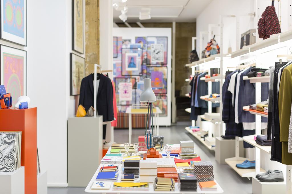 Ouverture de la nouvelle boutique Paul Smith dans le Marais à Paris