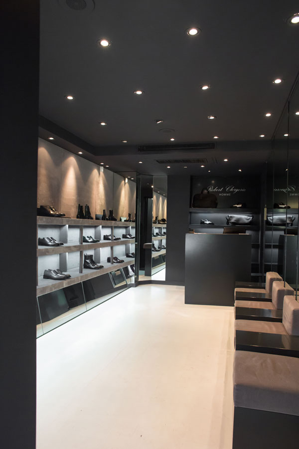 Boutique Robert Clergerie Homme interior - press