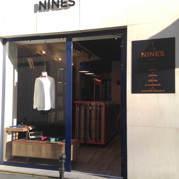 Nouvelle boutique The Nines rue de l'Arcade Paris 8e