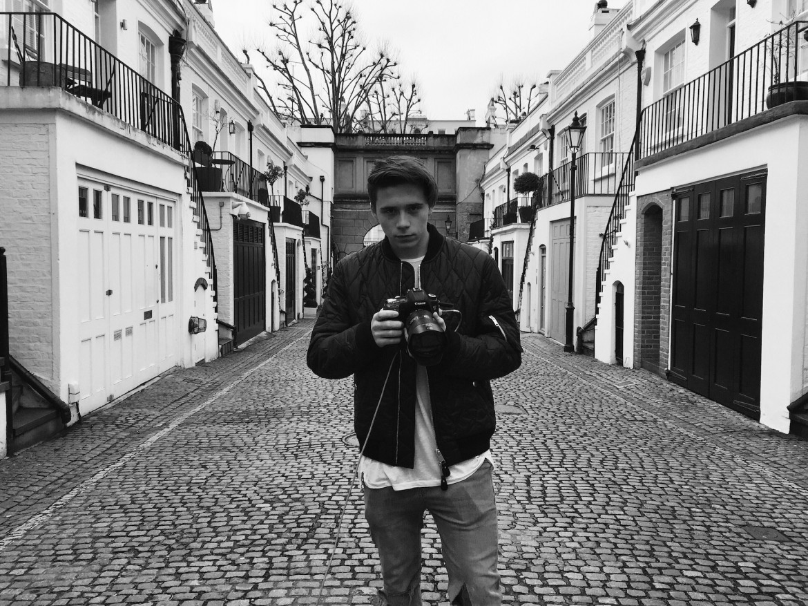 Brooklyn Beckham Burberry Brit Instagram Campaign
