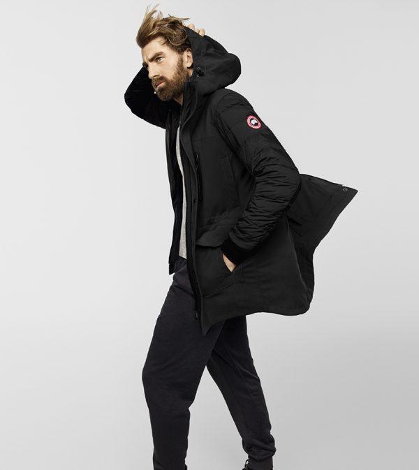 CANADA GOOSE - 2902M_Selwyn_Coat_Black