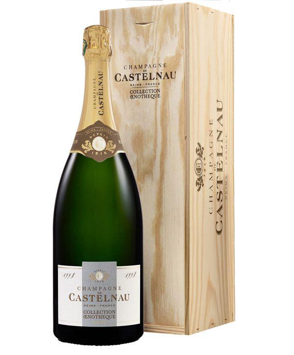 CHAMPAGNE DE CASTELNAU - Magnum Oenothèque 1998 (limité à 250 ex.) - 125€