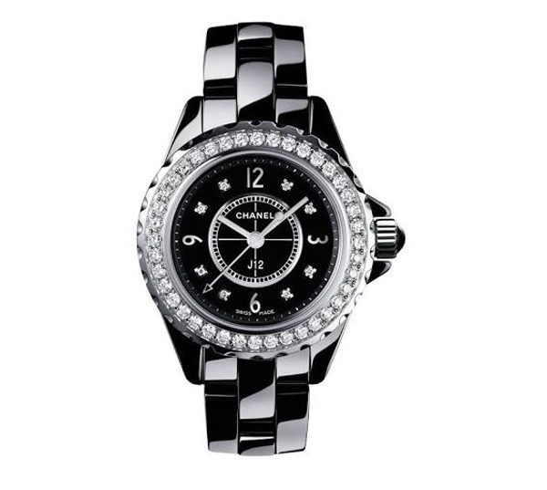 CHANEL - Montre J12 quarts avec diamants - 10 500€