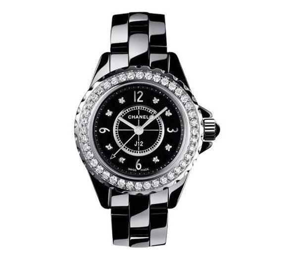 CHANEL - Montre J12 quarts avec diamants - 10 500€