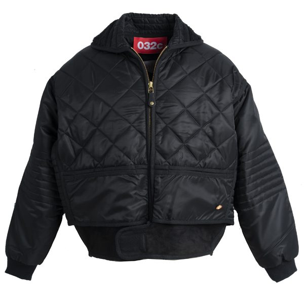 CHEVIGNON by 032c -Veste Cosmoon noire – 480€