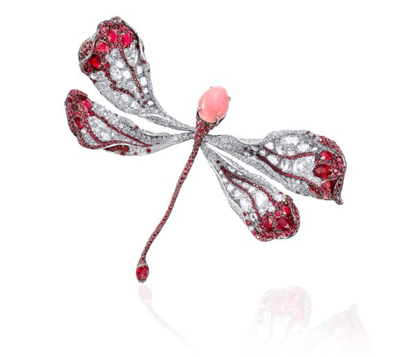 CINDY CHAO The Art Jewel - Broche Dragonfly - Prix sur demande