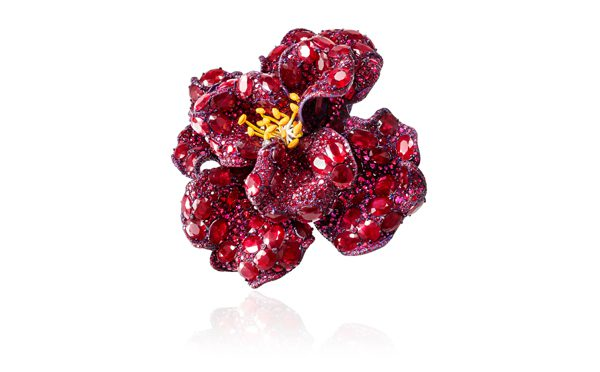 CINDY CHAO The Art Jewel_Peony Brooch