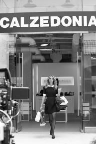 Photos backstage de la campagne télé Calzedonia avec Julia Roberts