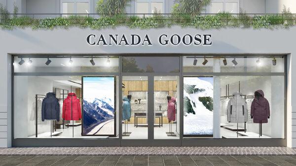 Canada Goose Store Berlin Rendering