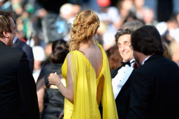 Cannes 2014 - John Nollet styles Uma Thurman Sils Maria2