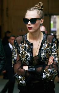 Cara Delevingne, Défilé Chanel, haute couture printemps-été 2016